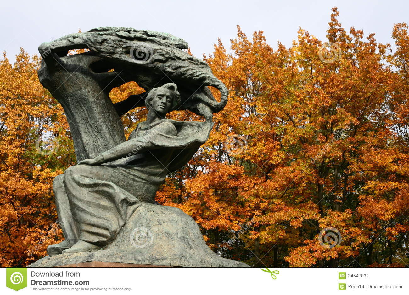 Chopin μνημείο