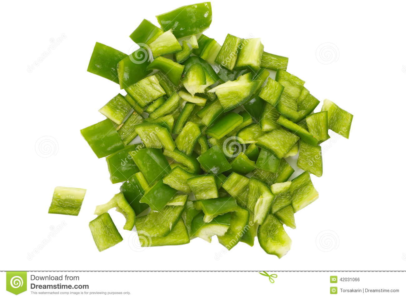 diced green pepper - photo #35