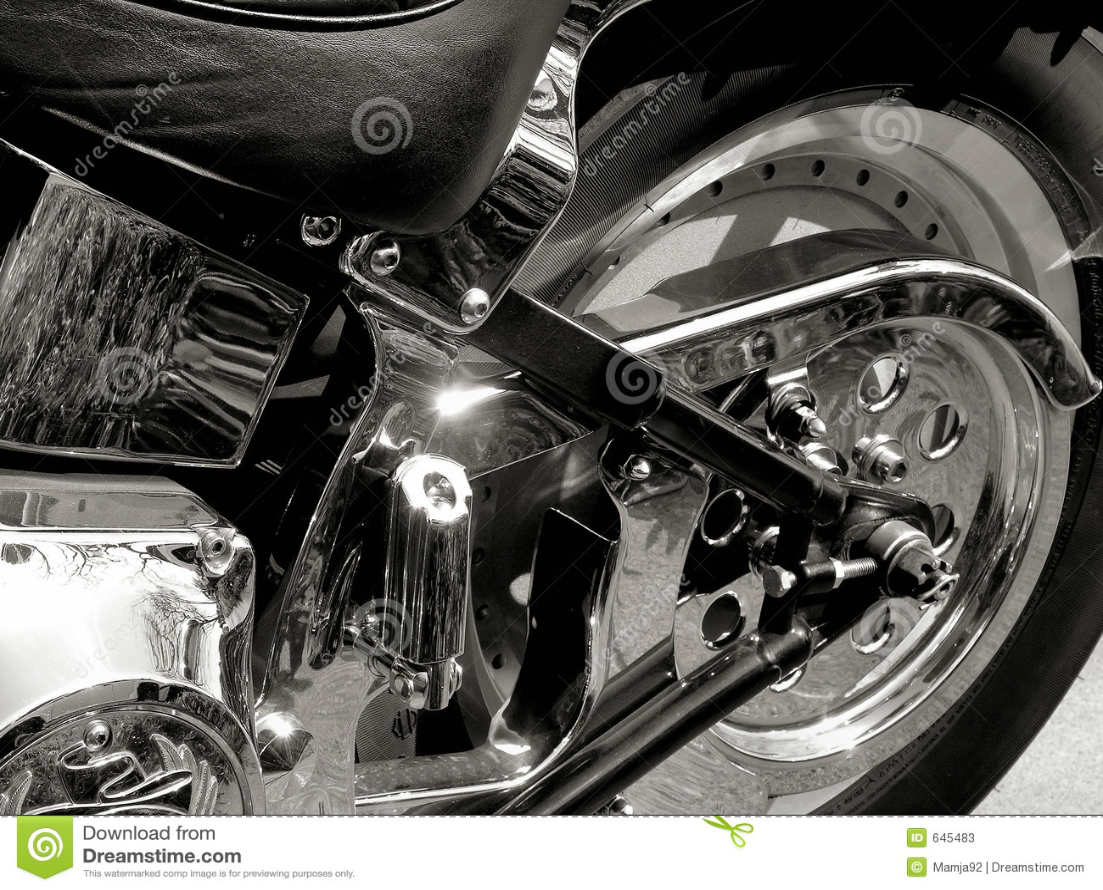 Download Chopper rear редакционное стоковое фото. изображение насчитывающей мотор - 645483