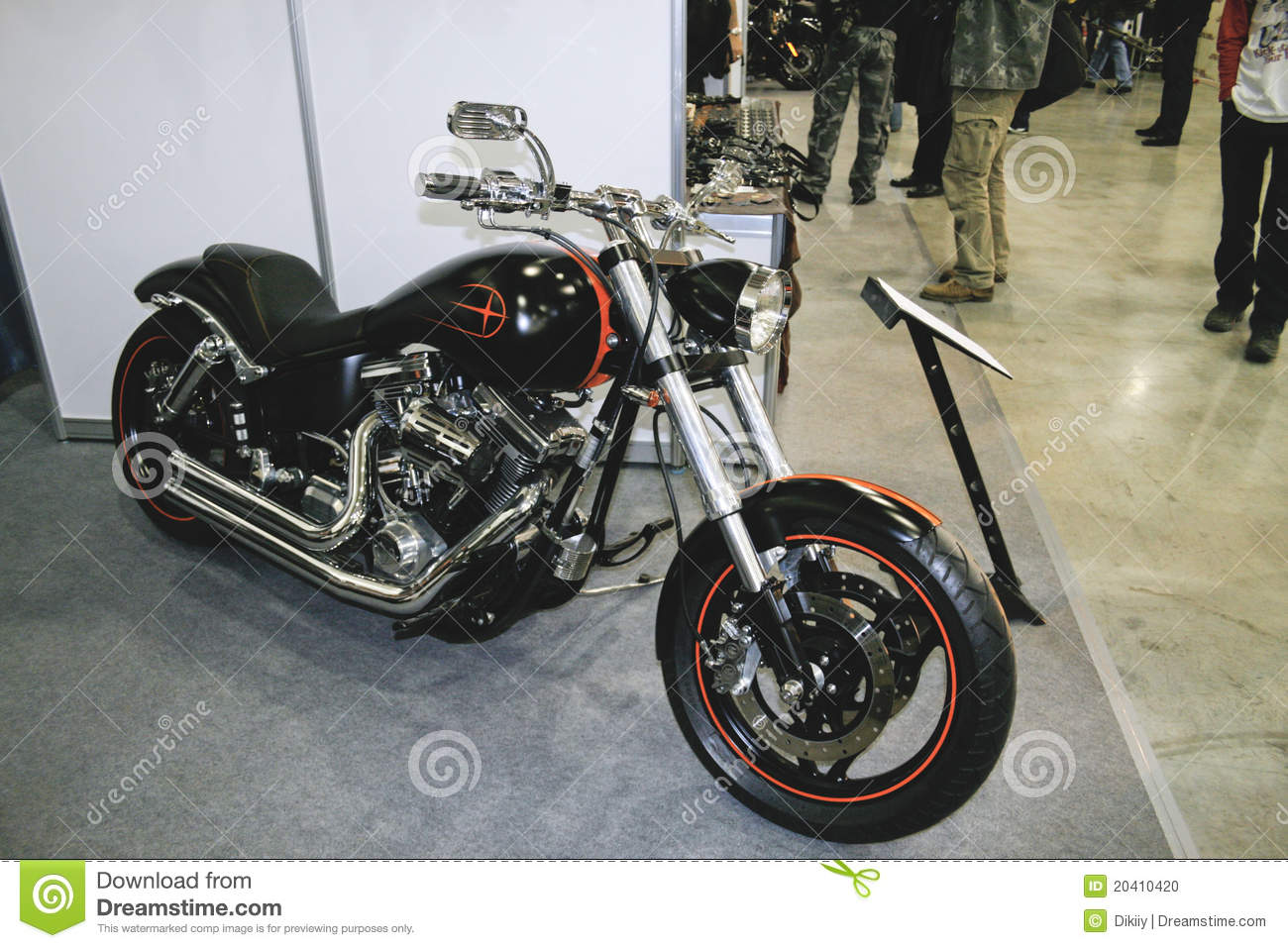 Chopper Titan Custom Editorial Image - Image: 20410420