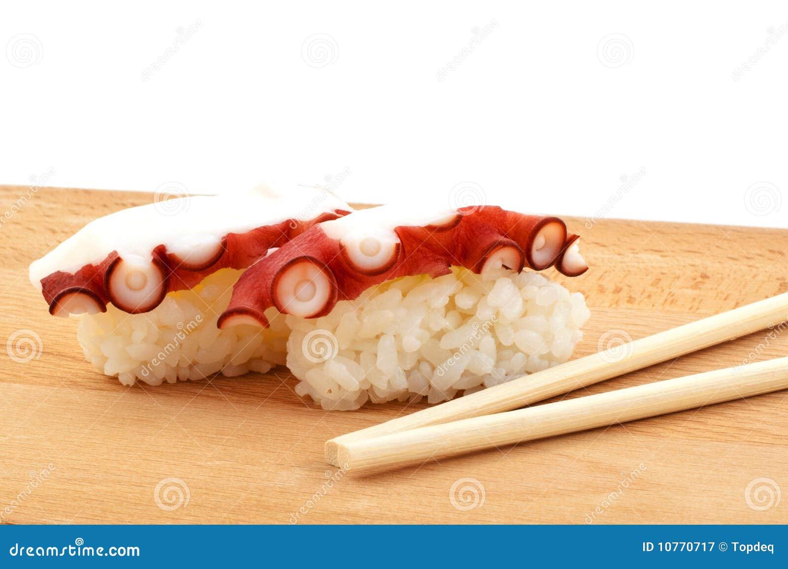 Chopsticks δάσος σουσιών χταποδι