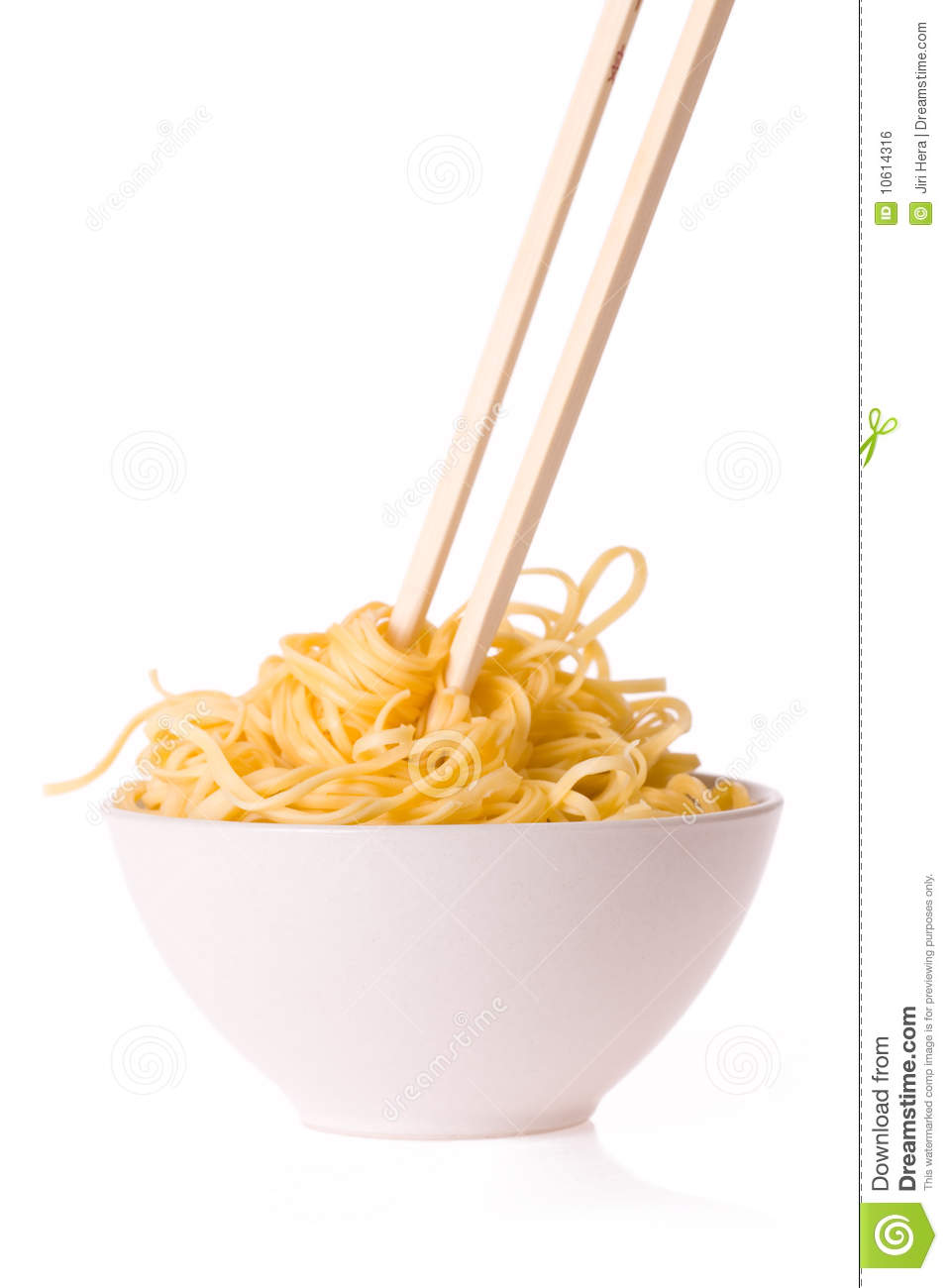 Chopsticks,bowl And Noodles Royalty Free Stock Image - Image: 10614316