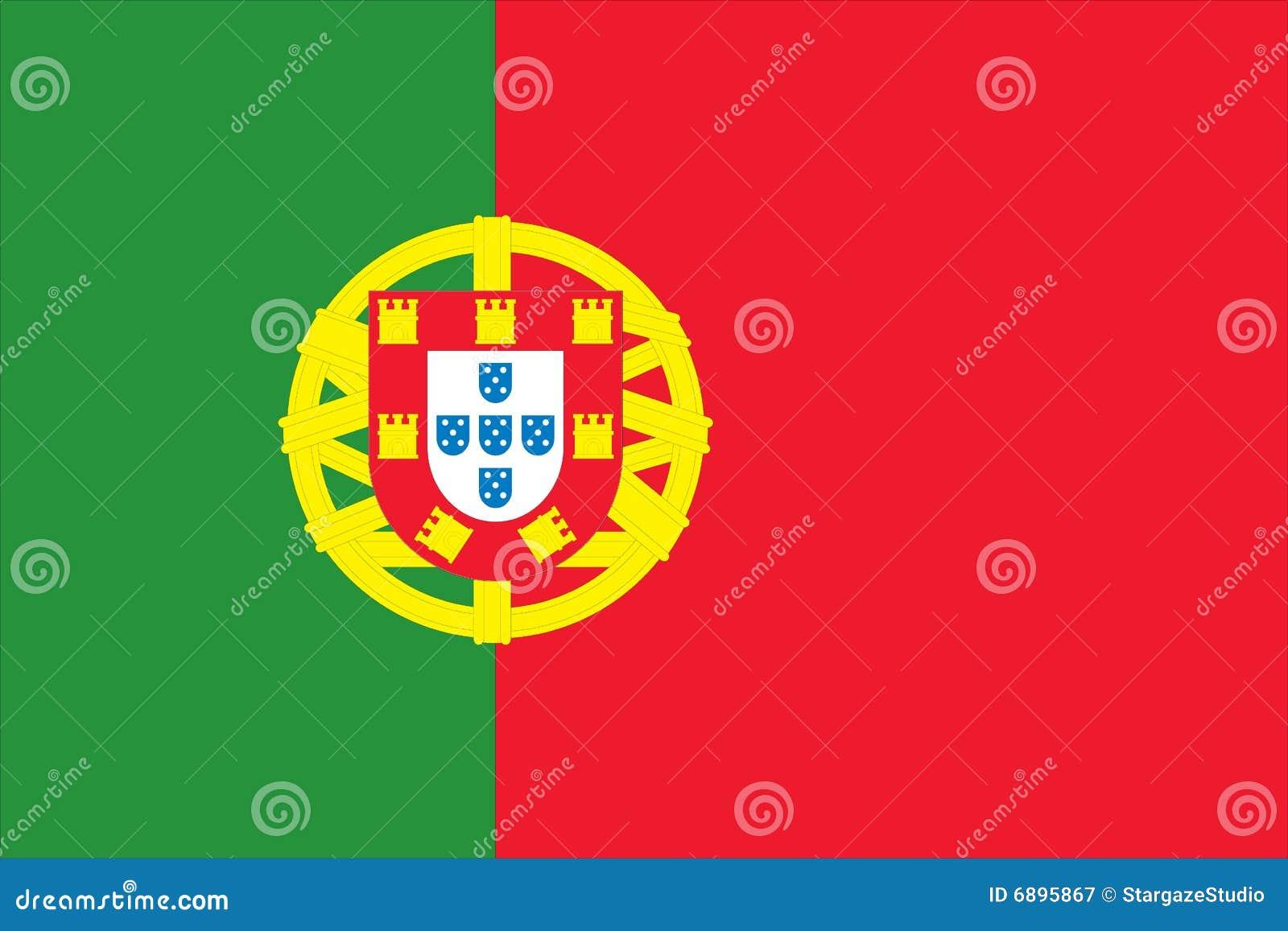 Chorągwiany krajowy Portugal