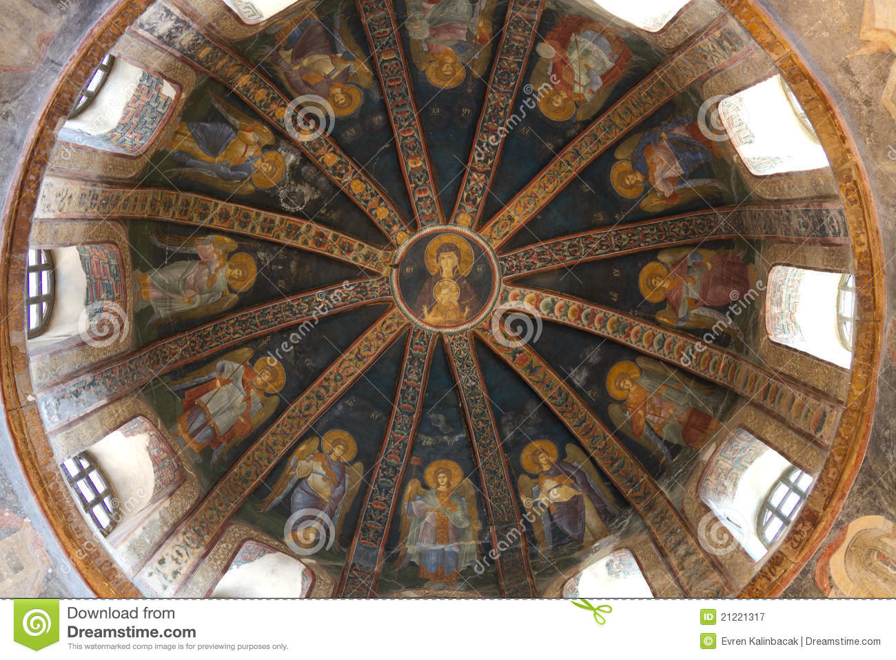 Chora Church Royalty Free Stock Photography - Image: 21221317