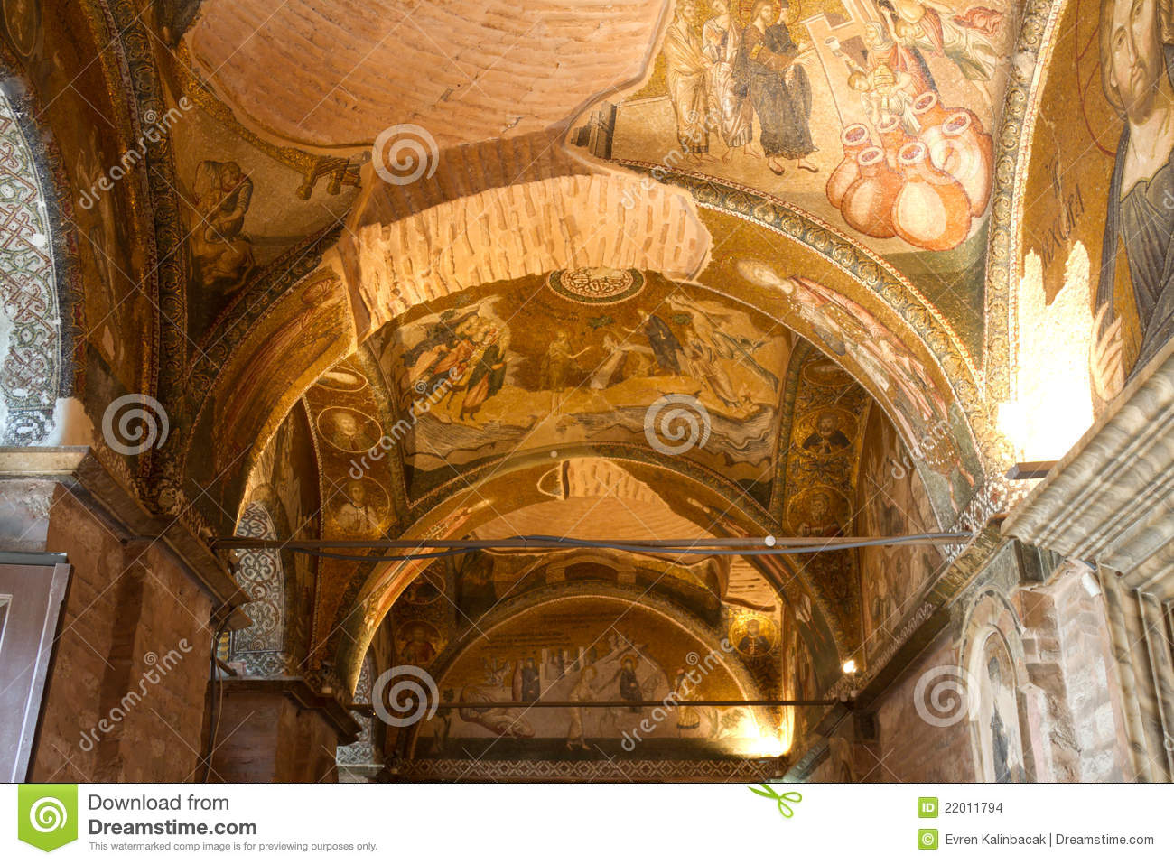 Chora Church Stock Images - Image: 22011794