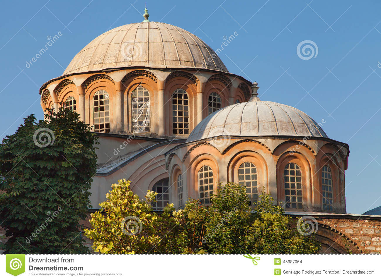 Chora Church Stock Photo - Image: 45987064