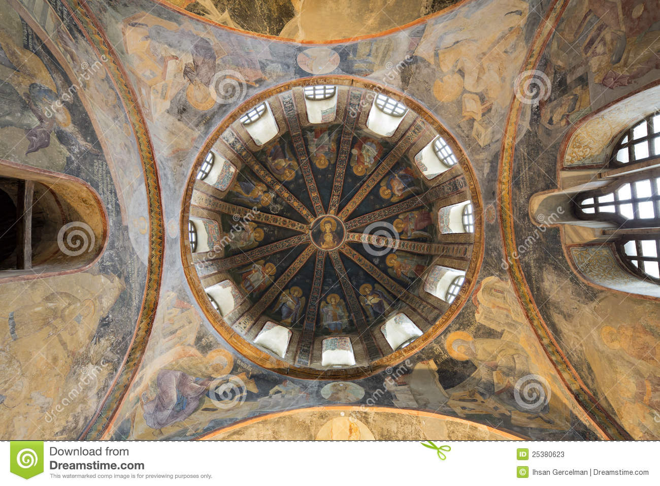 Chora Church, Istanbul, Turkey Stock Photos - Image: 25380623