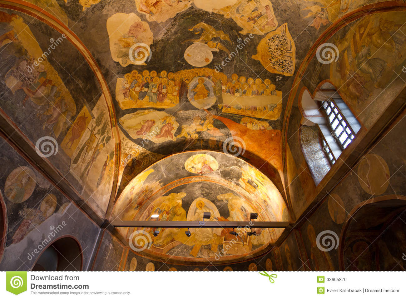 Chora Church Stock Photo - Image: 33605870