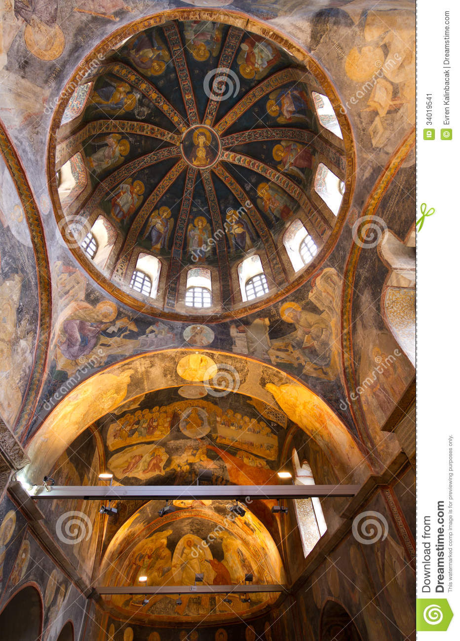Chora Church Stock Image - Image: 34019541