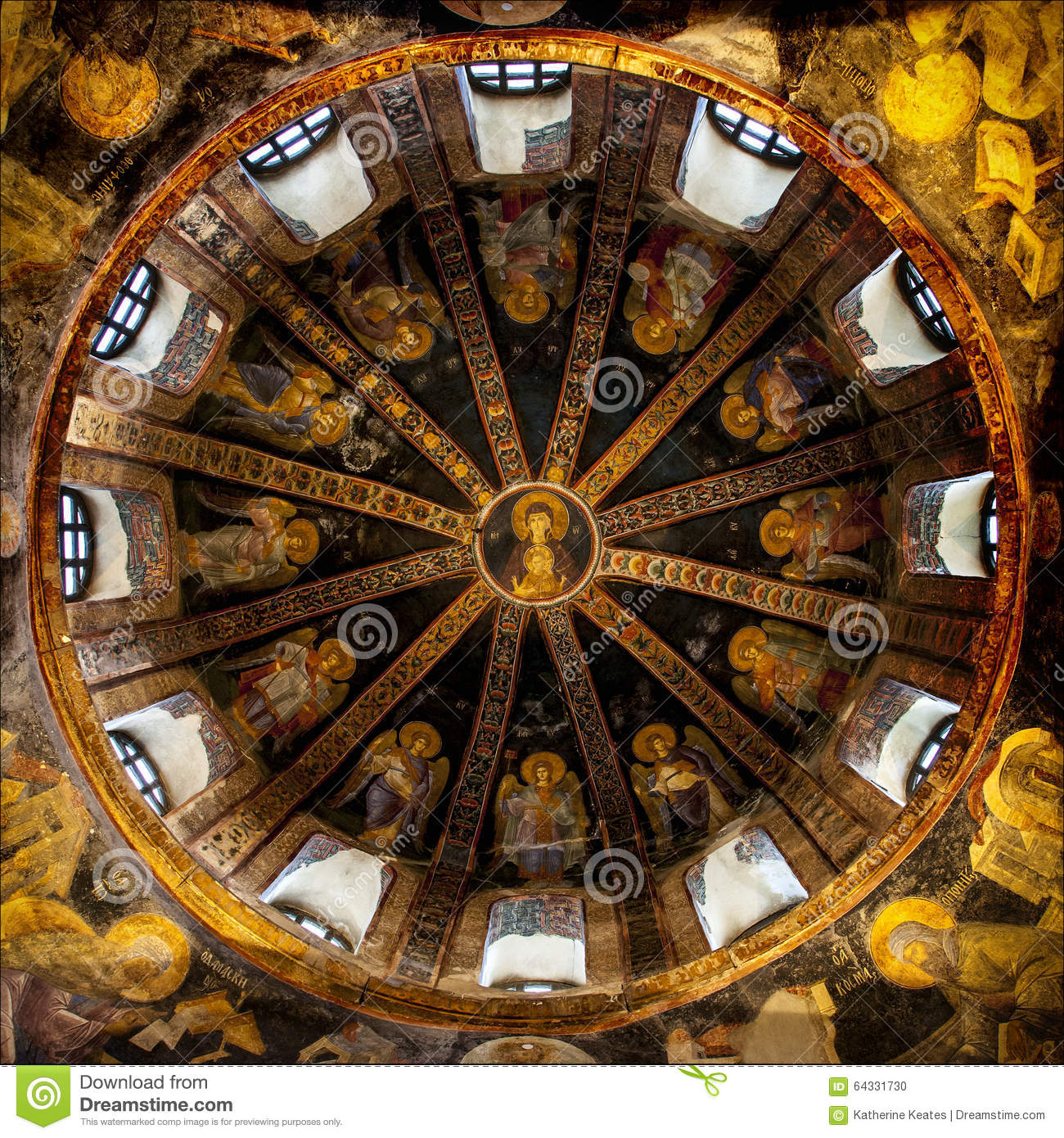The Chora Church Stock Photo - Image: 64331730