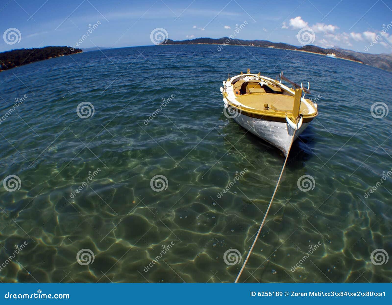 Chorwacki gajeta łodzi