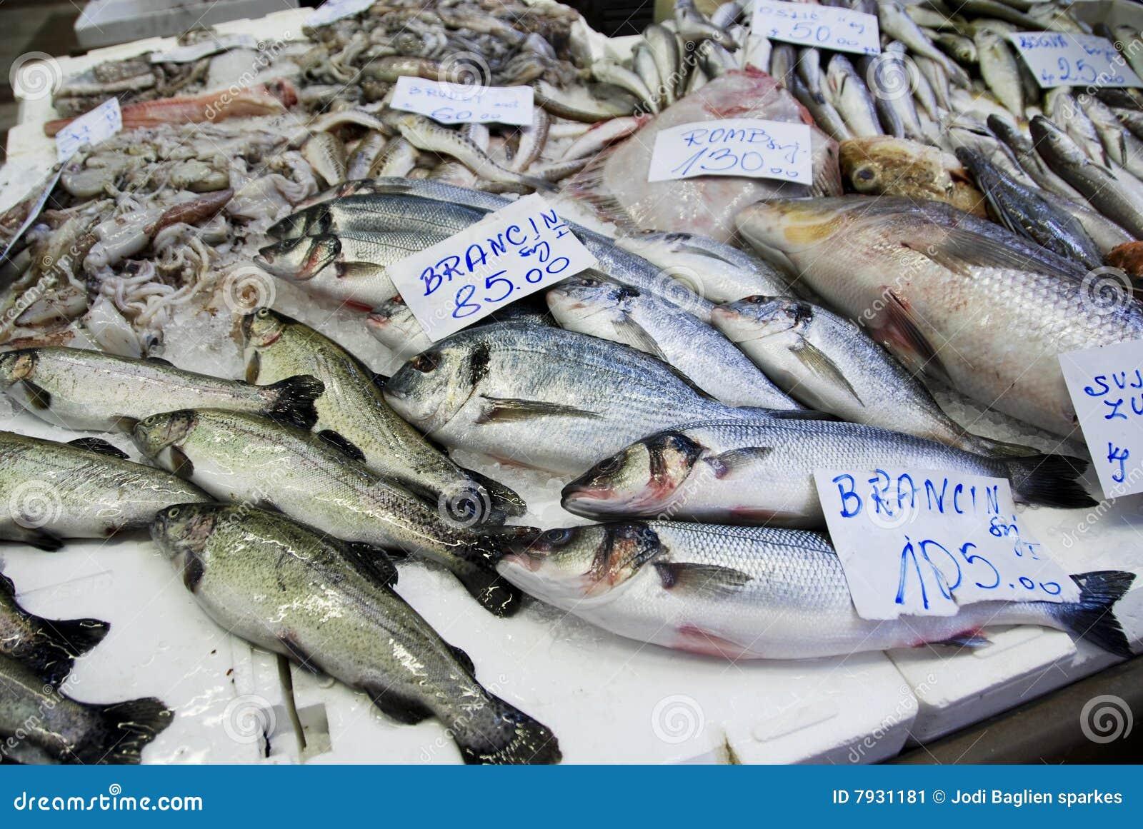 Chorwacki rybi rynek