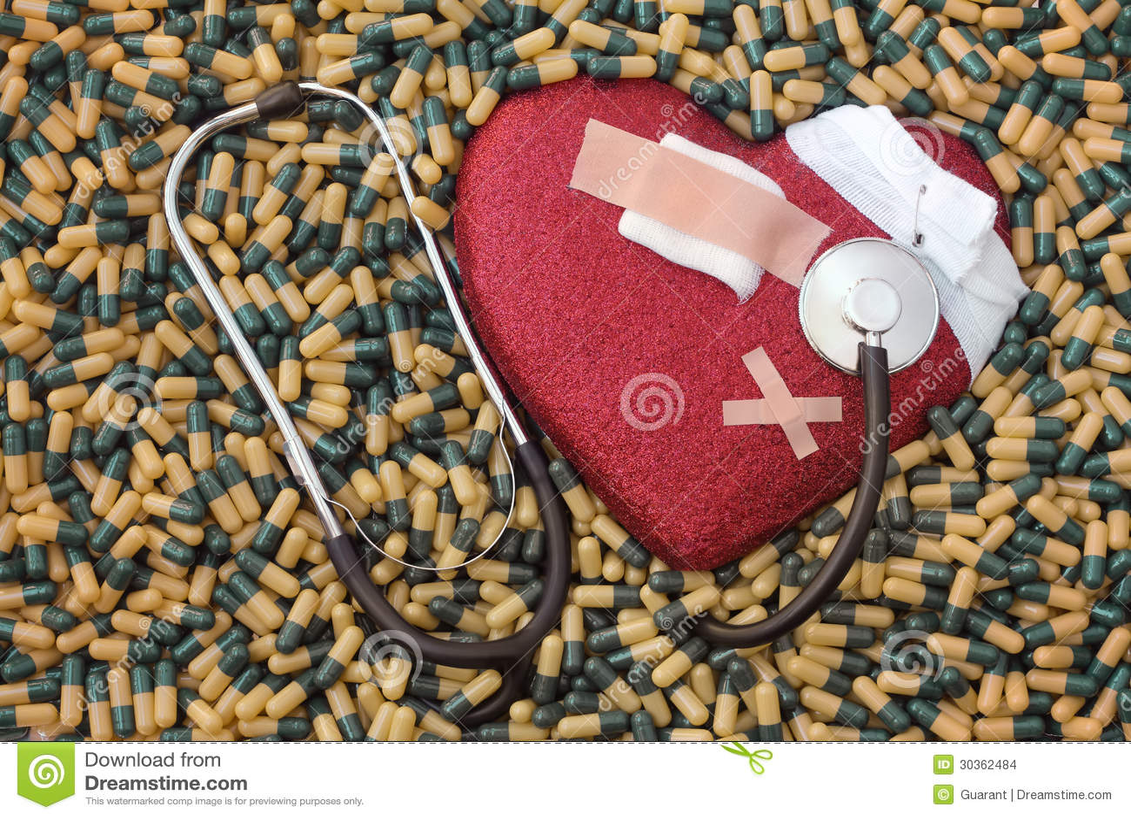 Chory serce, infarct i lekarstwo,