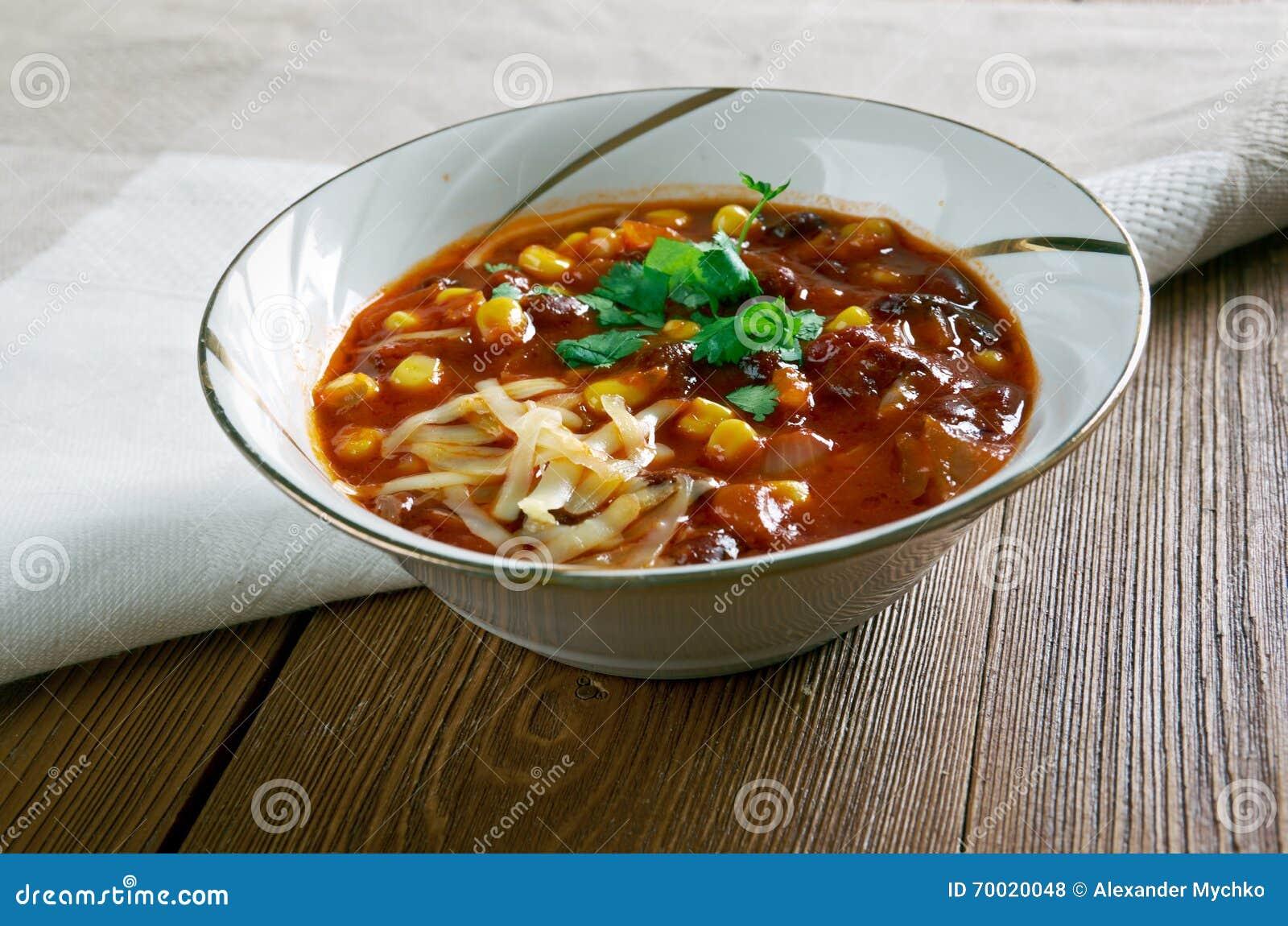 Chouriço super Chili Bowls