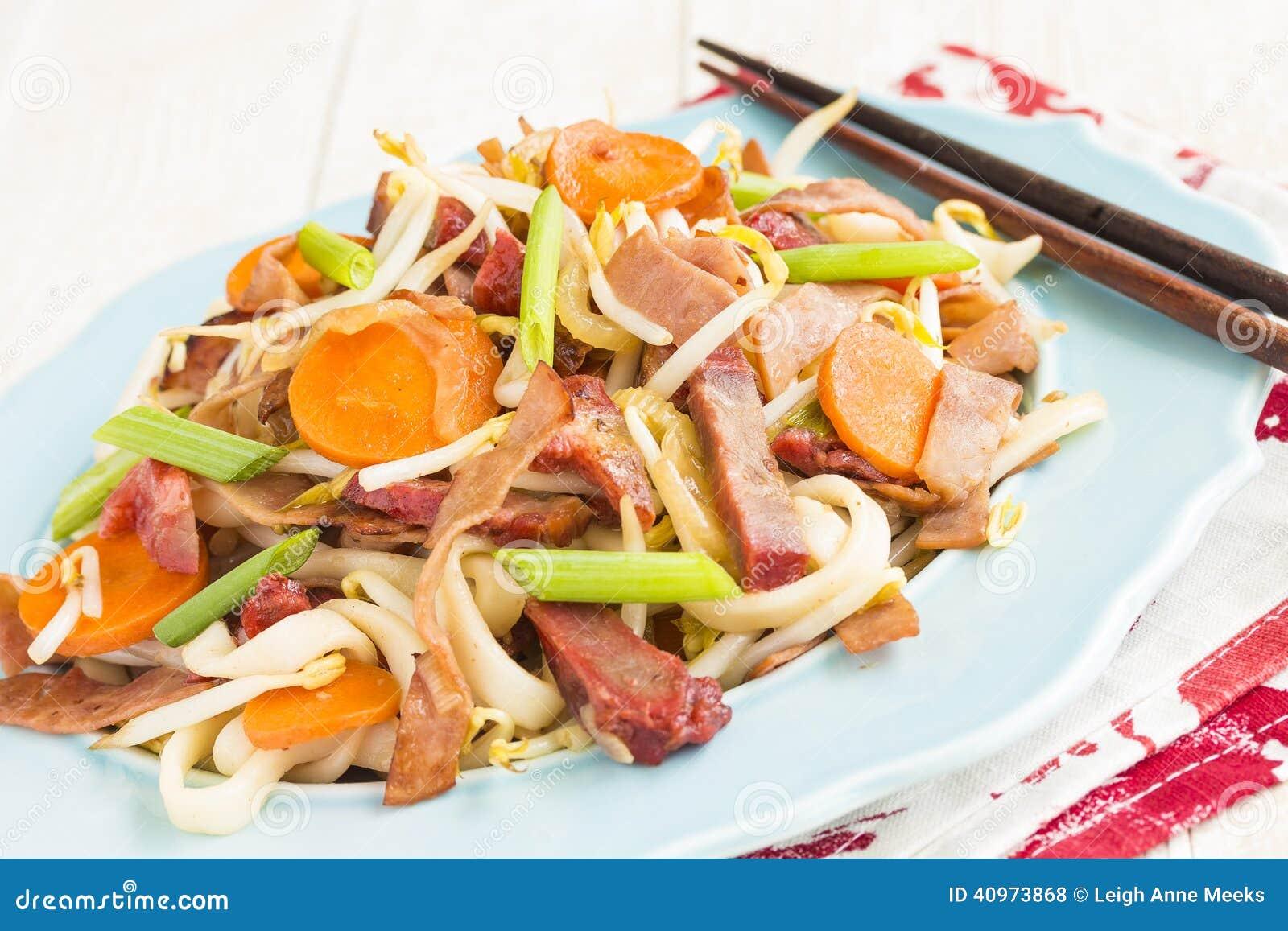 Chow Funn stock photo  Image of hawaiian, plate, dinner