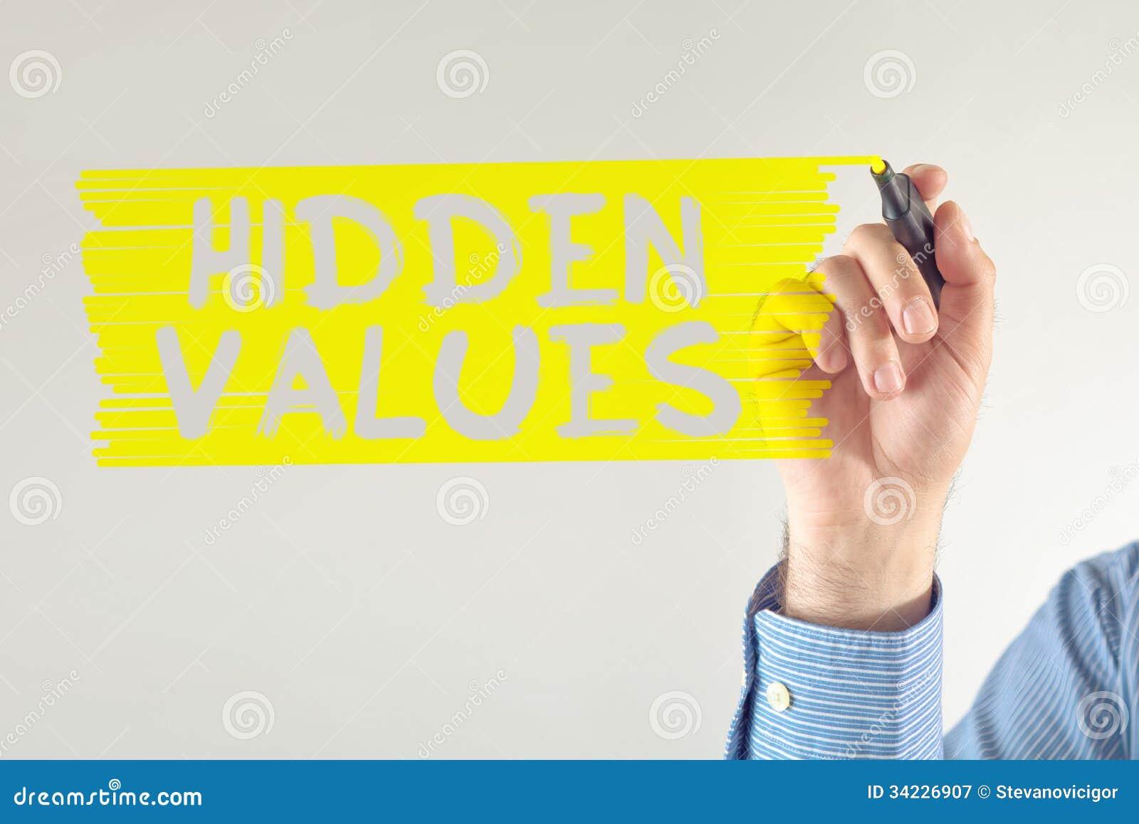 Chowane wartości