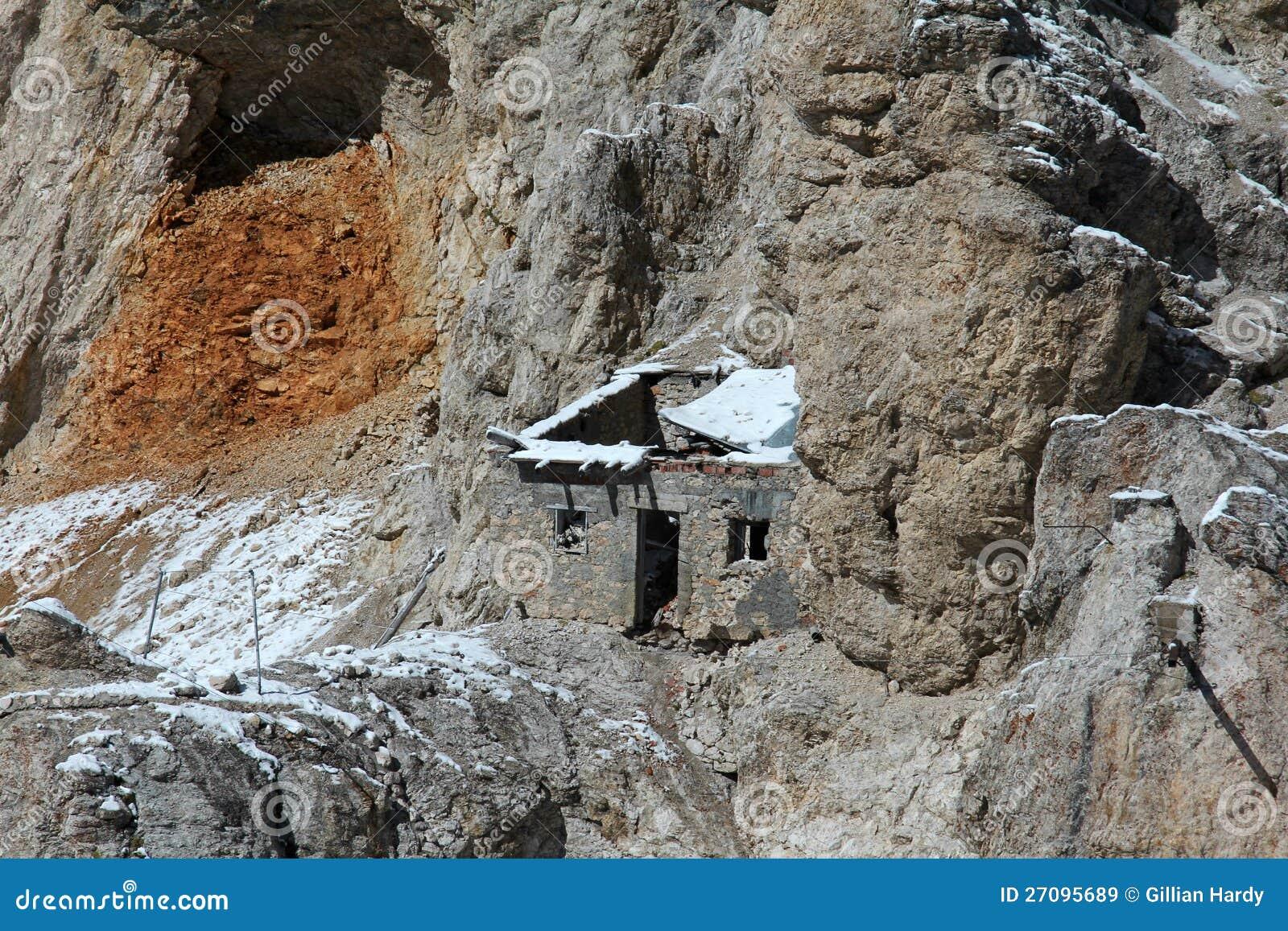 Choza de la montaña
