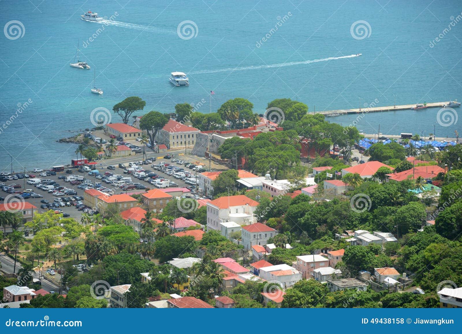 Chrétien de fort, Charlotte Amalie, Îles Vierges américaines