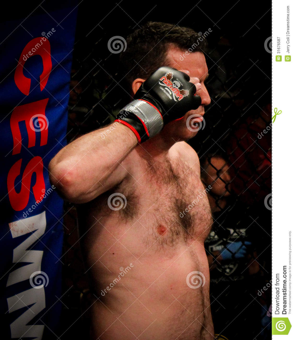 - chris-cappi-woodall-salutes-national-anthem-his-fight-june-twin-river-casino-lincoln-ri-31676587