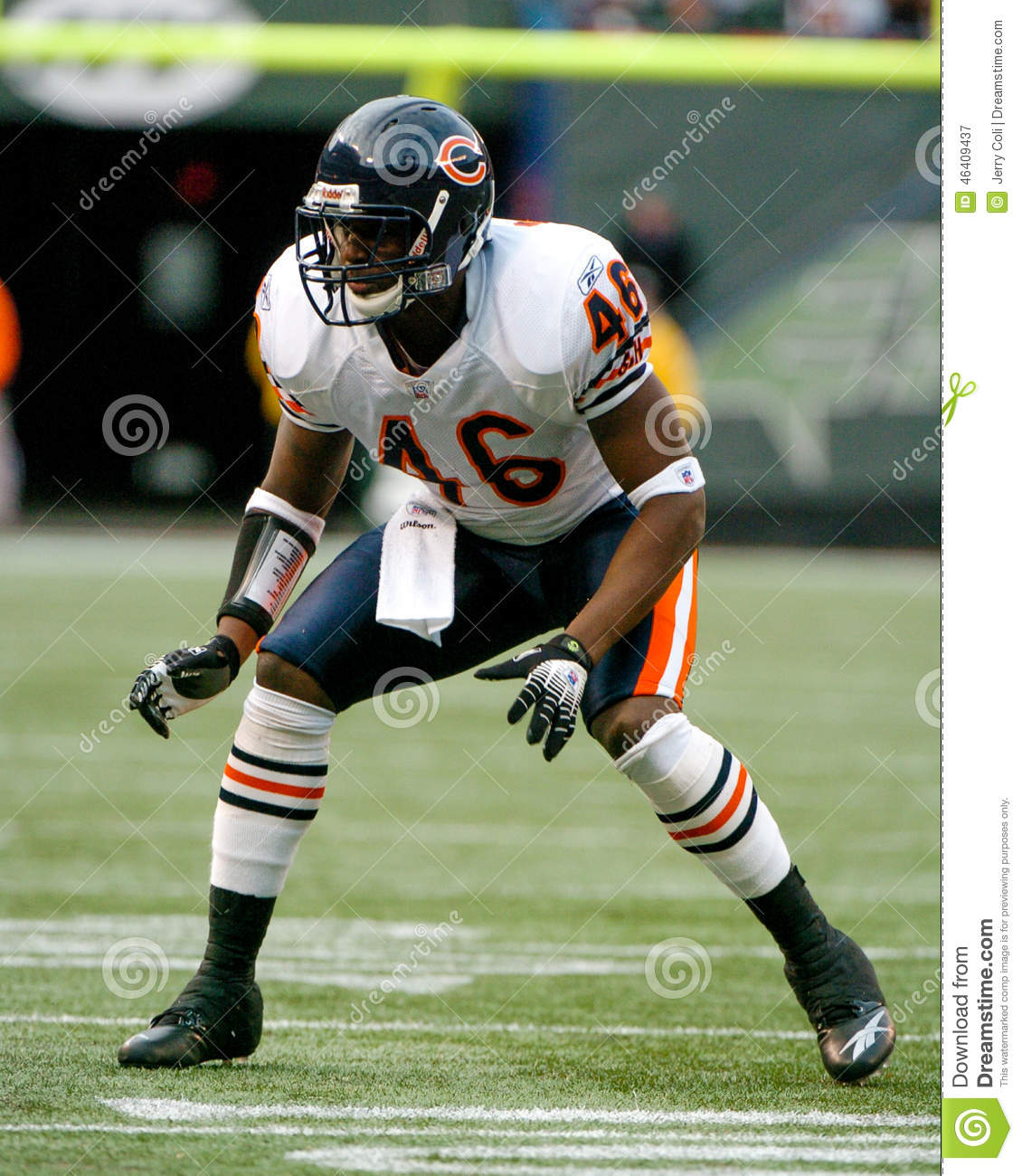 Chris Harris Chicago Bears Editorial Photography Image Of Defense