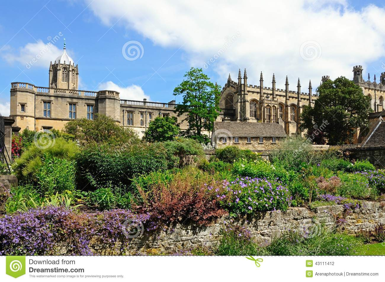 Christ church cathedral and college oxford stock photo - Trinity gardens church of christ ...