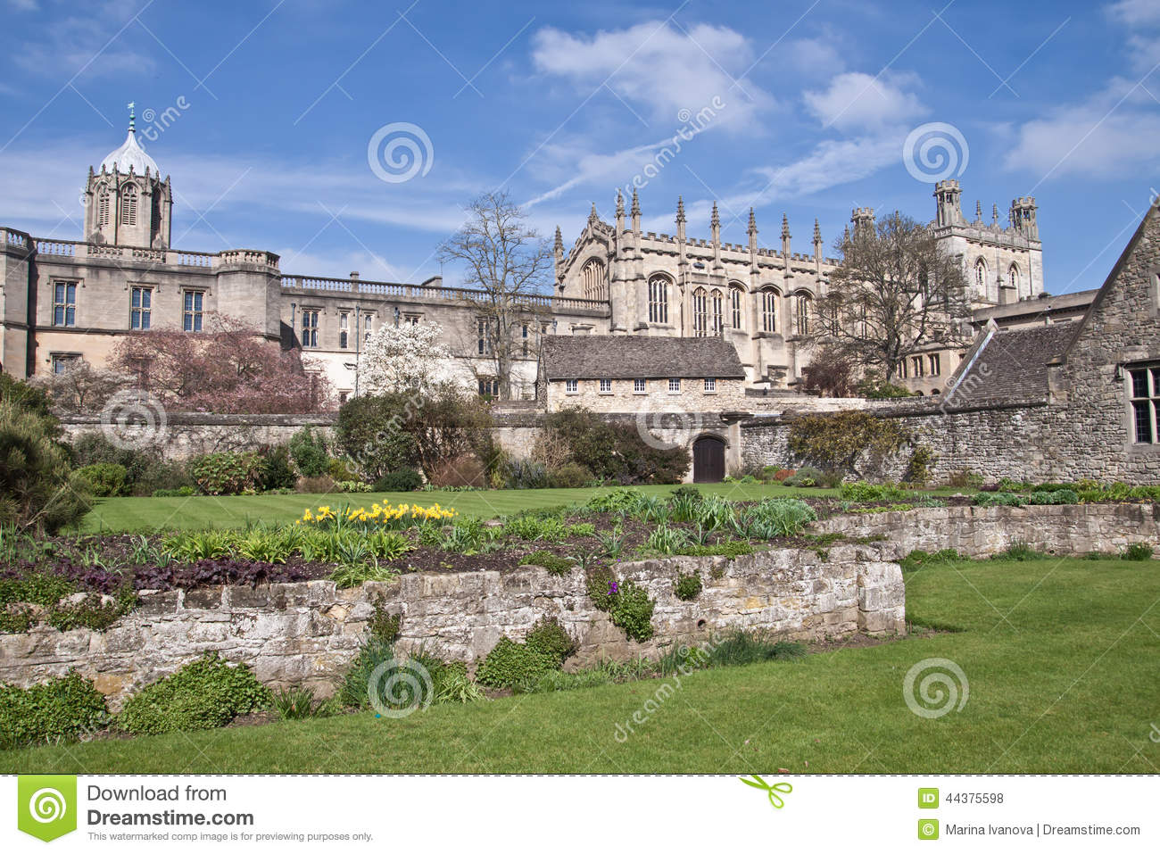 Oxford (MS) United States  City pictures : Christ Church College In Oxford Stock Photo Image: 44375598