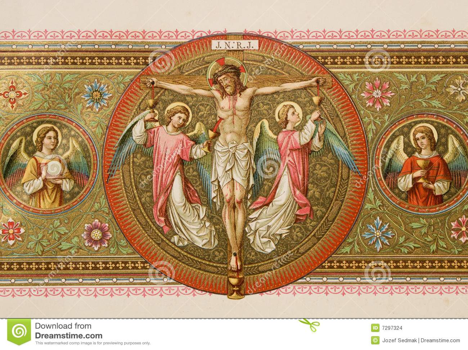 Christ im Kreuz