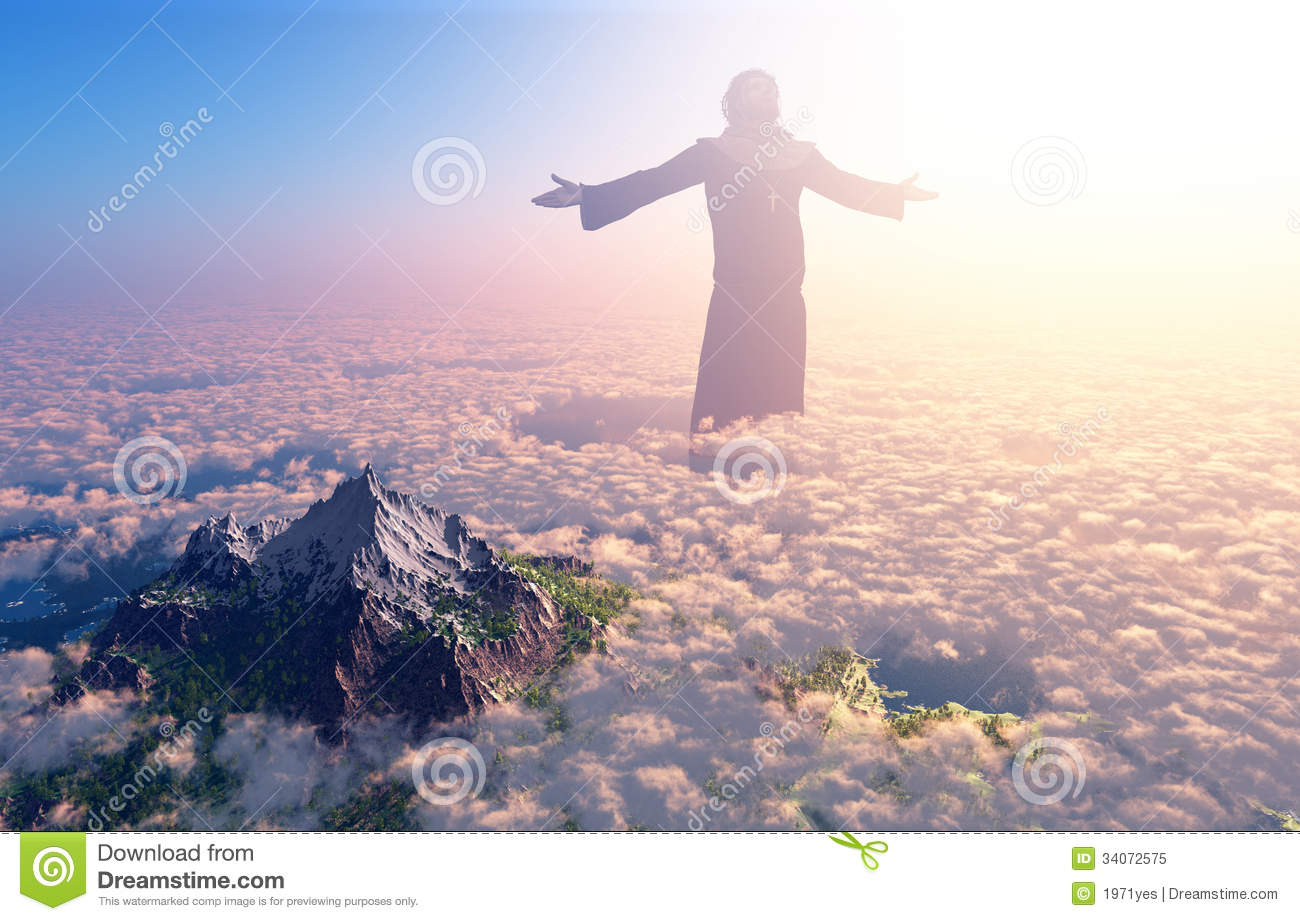 The Christ Stock Illustration Image Of Gospel Hope