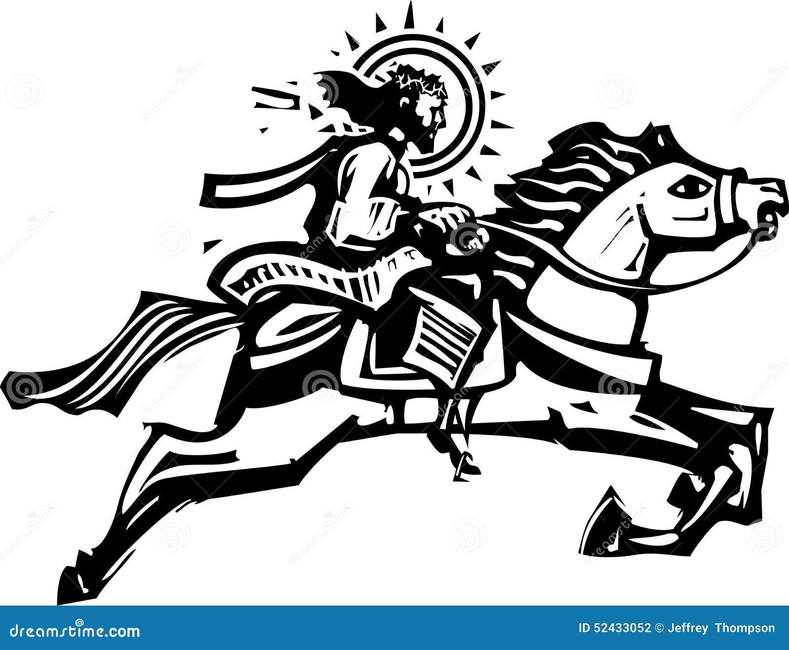 Jesus White Horse Stock Illustrations 56 Jesus White Horse Stock Illustrations Vectors Clipart Dreamstime