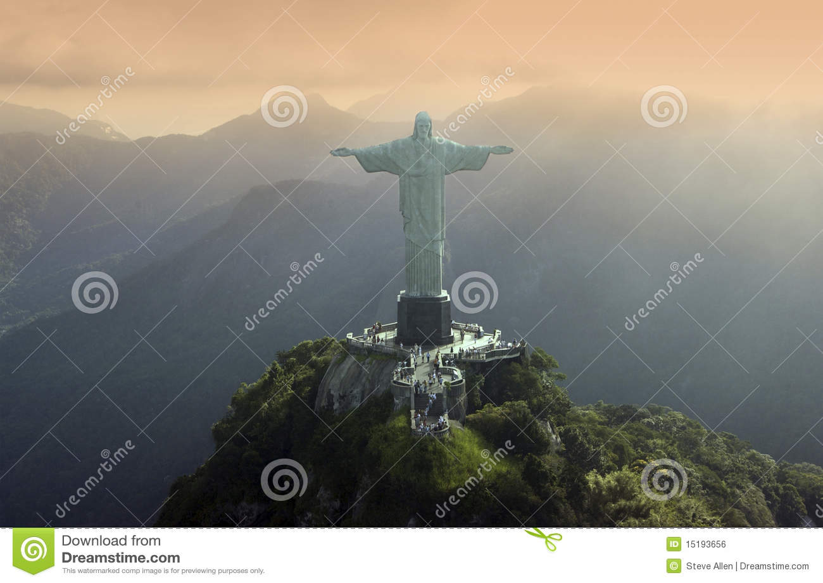 Christ o Redeemer em Rio de Janeiro - Brasil