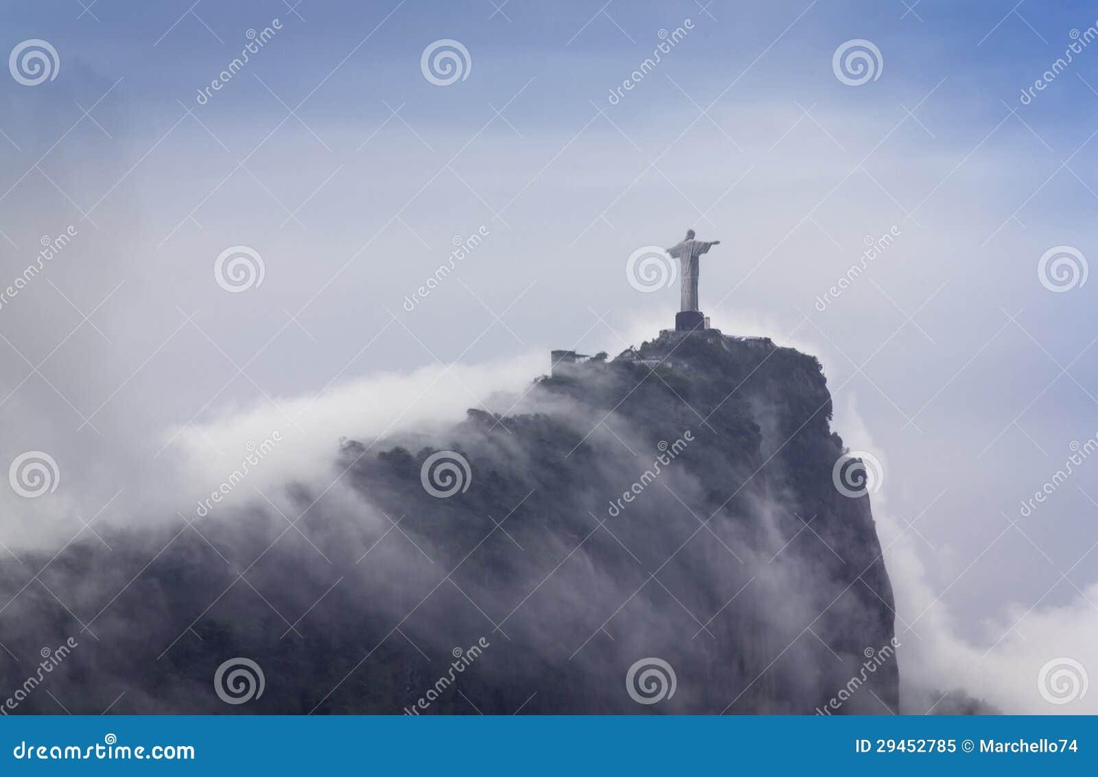 Christ o redentor, Rio de Janeiro, Brasil