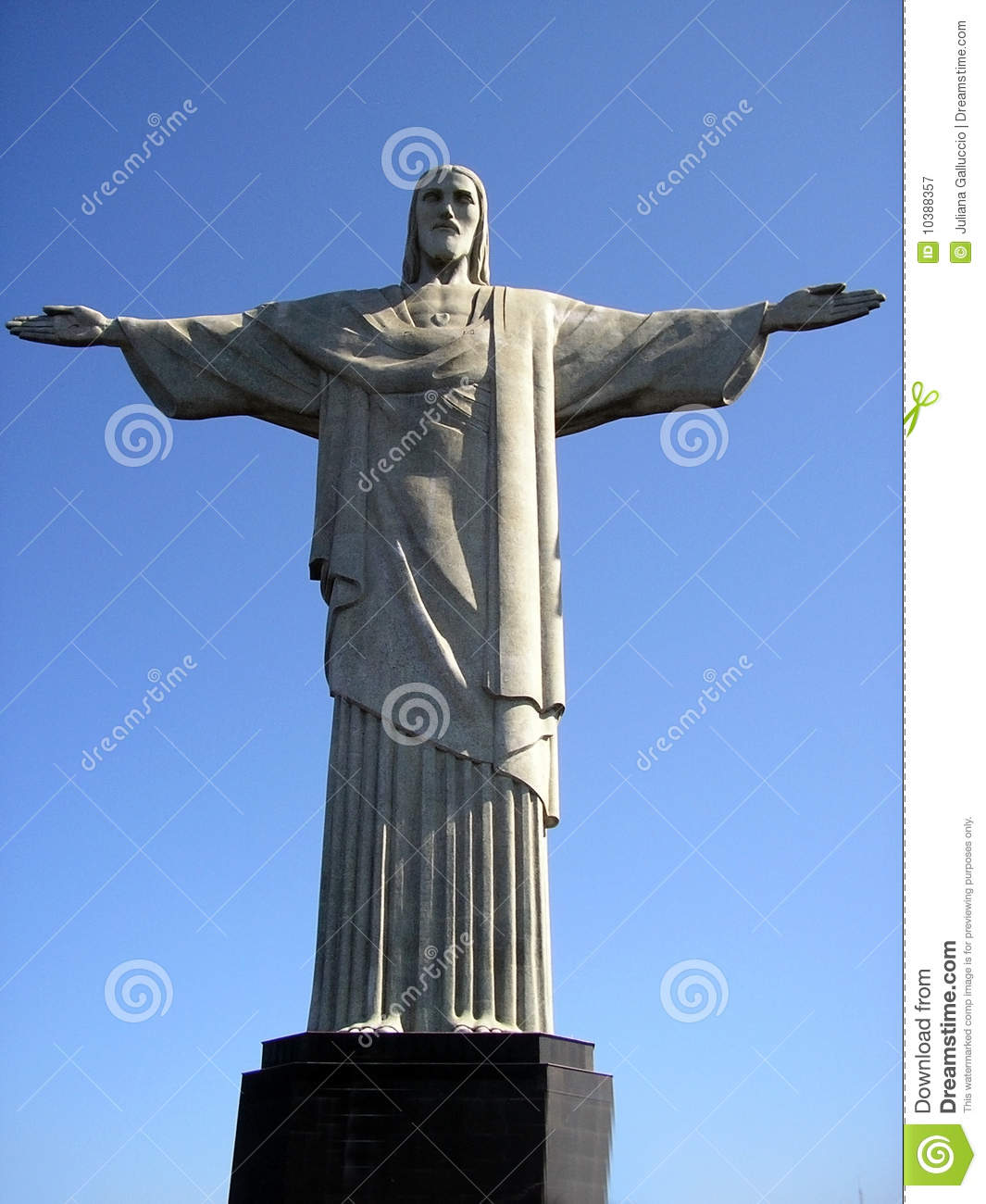 Christ The Redeemer : Christ the redeemer statue stock image of immense