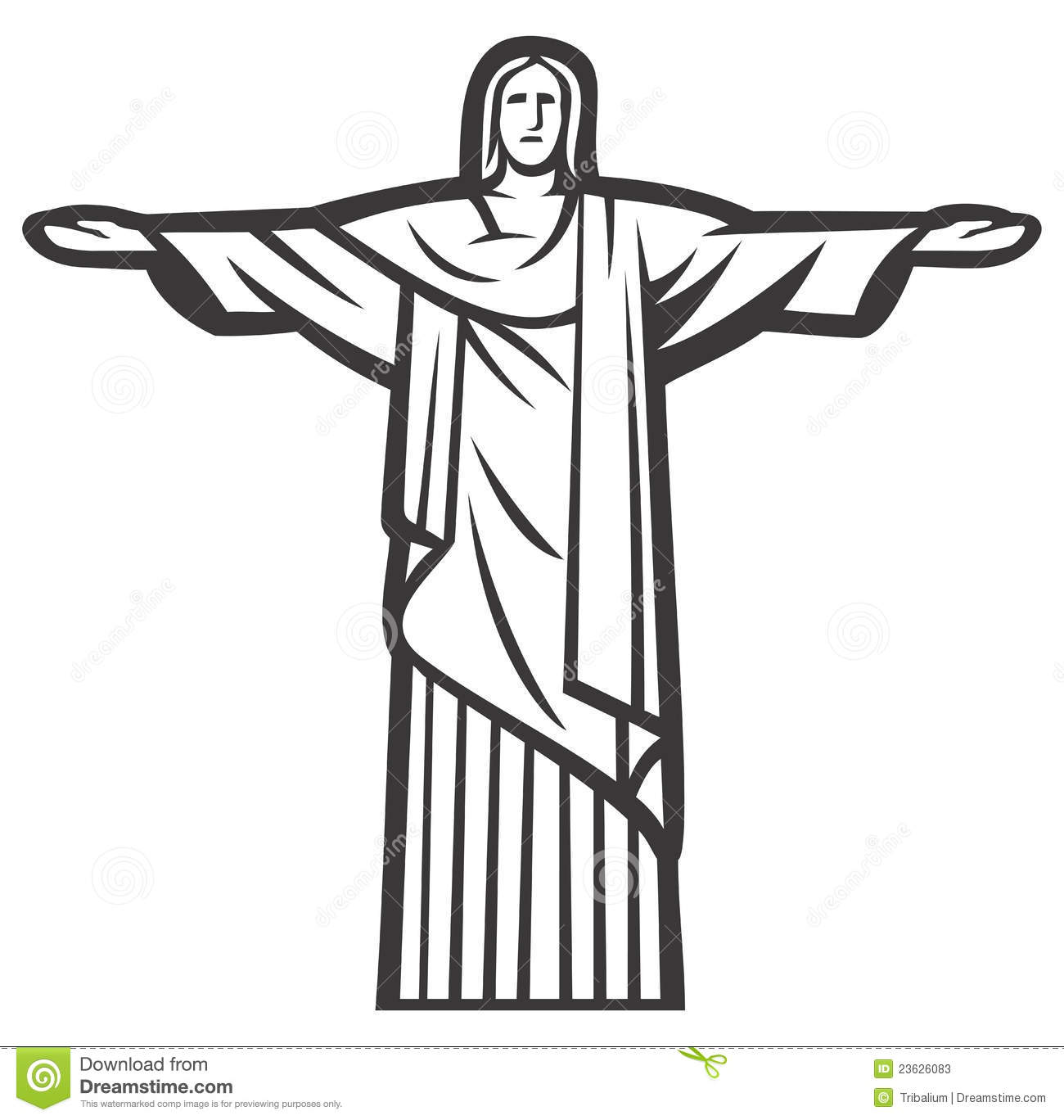 Stock Photos Christ Redeemer Statue Image23626083 furthermore Coloriage Dieu additionally Tattooflash My Little Angel 56644801 as well Zoom In Versus Zoom Out Perspective in addition The Church Family. on jesus drawings