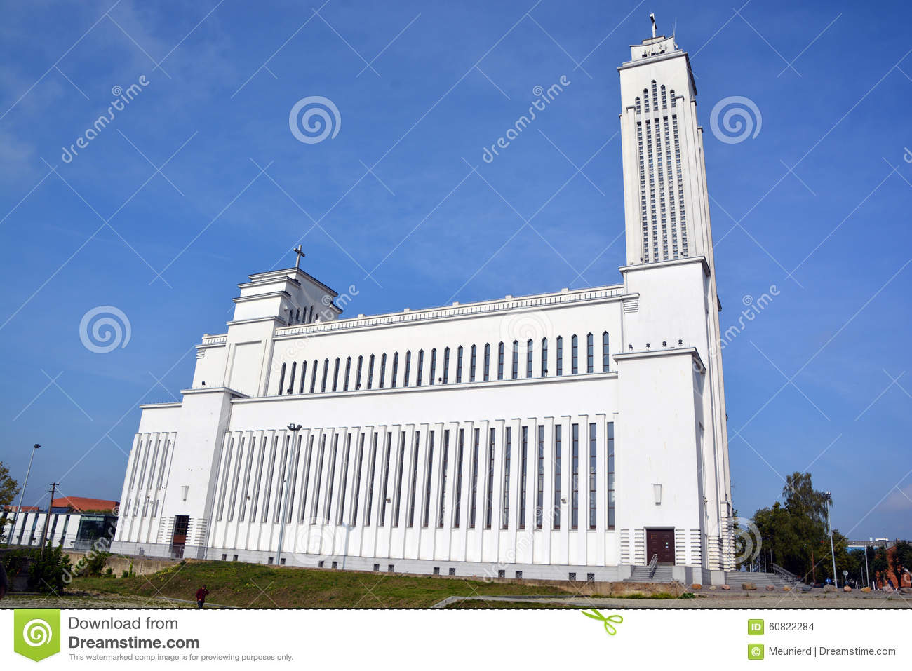 Kaunas Lithuania  city pictures gallery : church kaunas lithuania monumental roman catholic kaunas lithuania ...