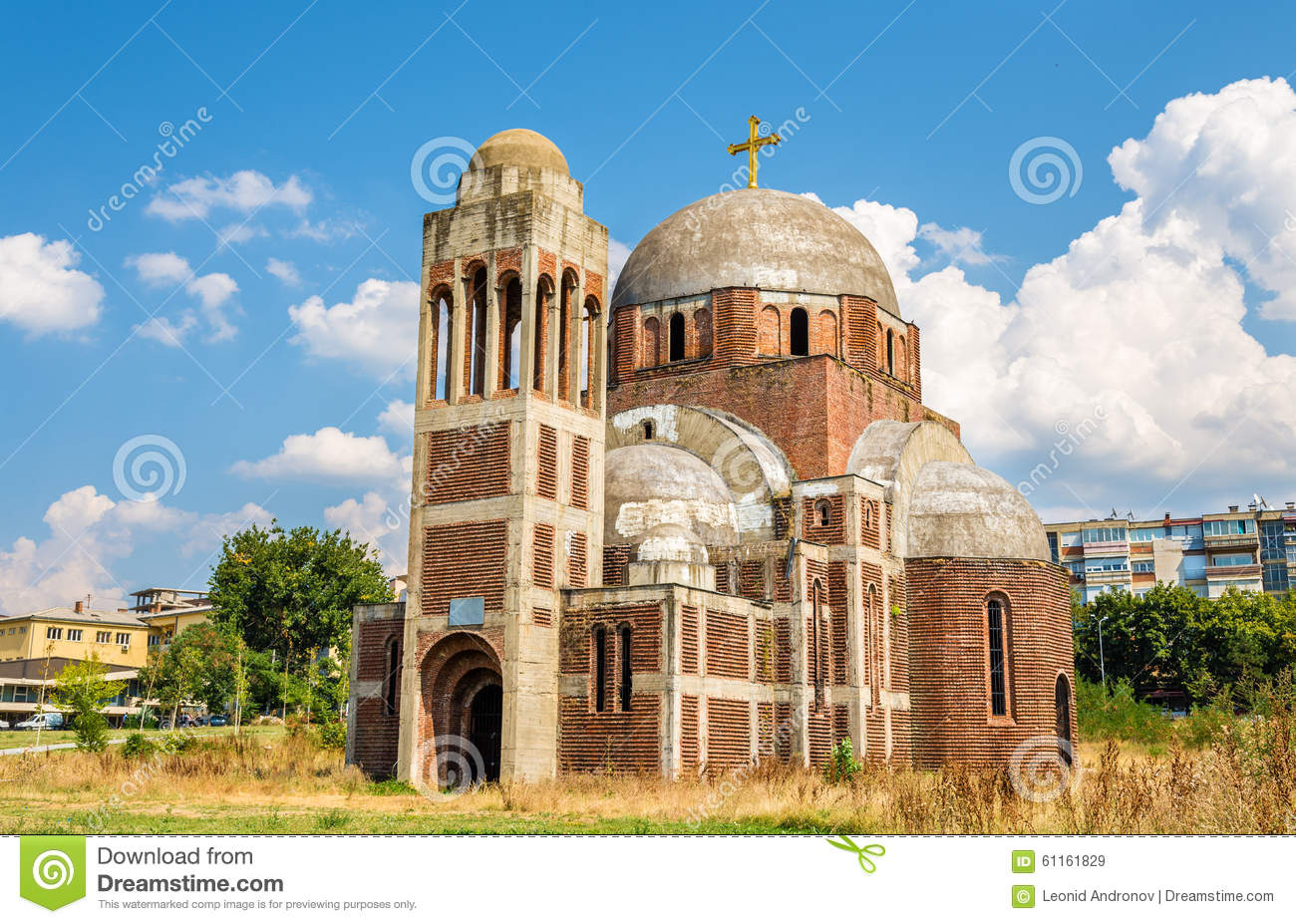 The Christ the Saviour Serbian Orthodox Cathedral in Pristina, K