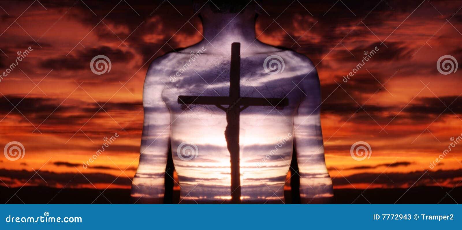 Christ und Kreuz