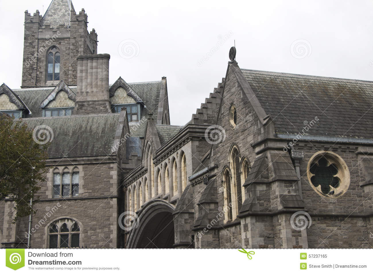 Christchurch Cathedral, an important Catholic church in Dublin