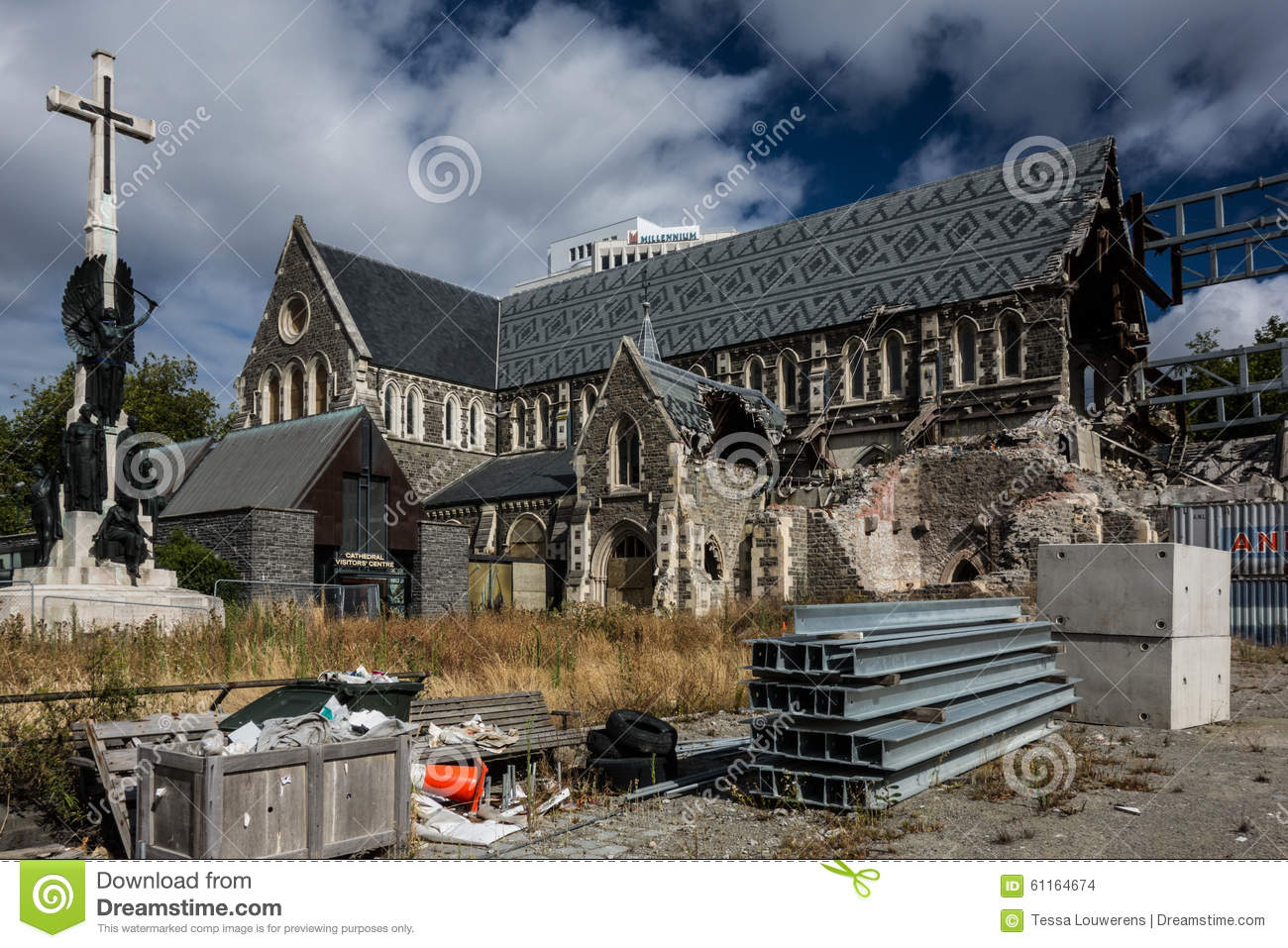 Christchurch Video Detail: Christchurch Cathedral Reconstruction After Earthquake