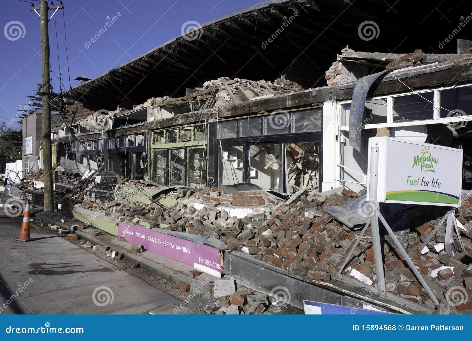 Christchurch-Erdbeben 4. September 2010
