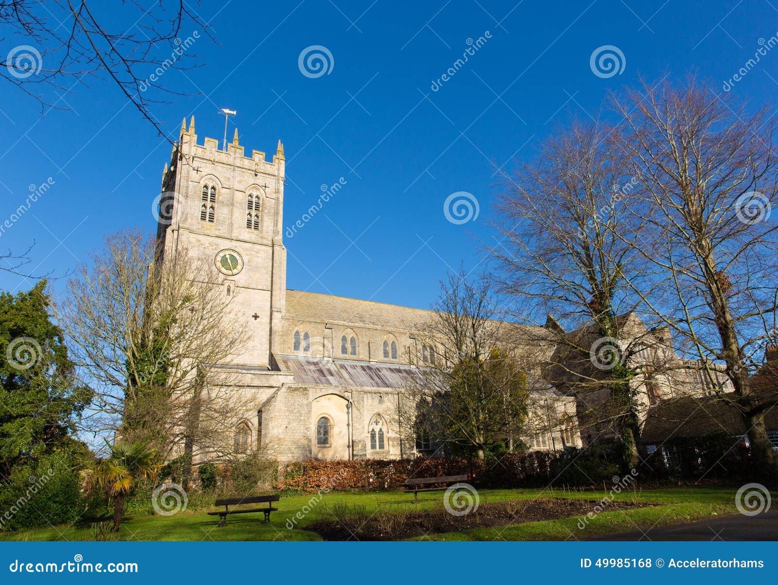 Christchurch Priory Dorset England UK 11th century Grade I listed church