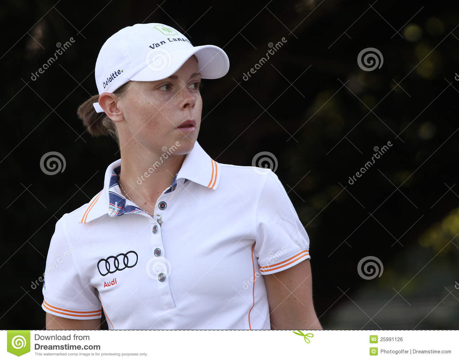 Christel Boeljon på golf Evian styrer 2012