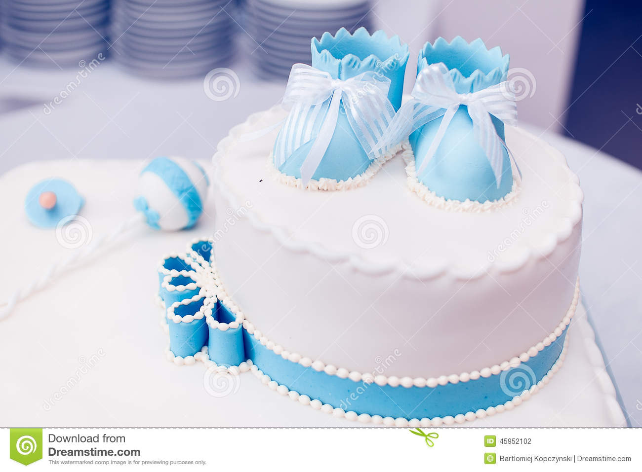 Cake Stock Photo Image Of Love Decoration Newborn
