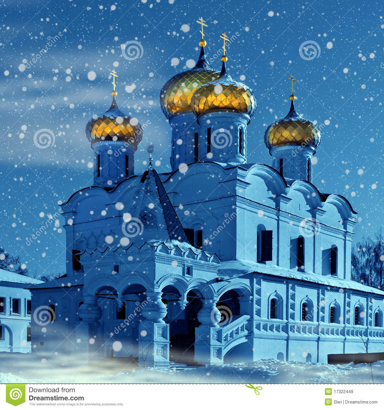 christentumkirche in russland weihnachten lizenzfreie. Black Bedroom Furniture Sets. Home Design Ideas