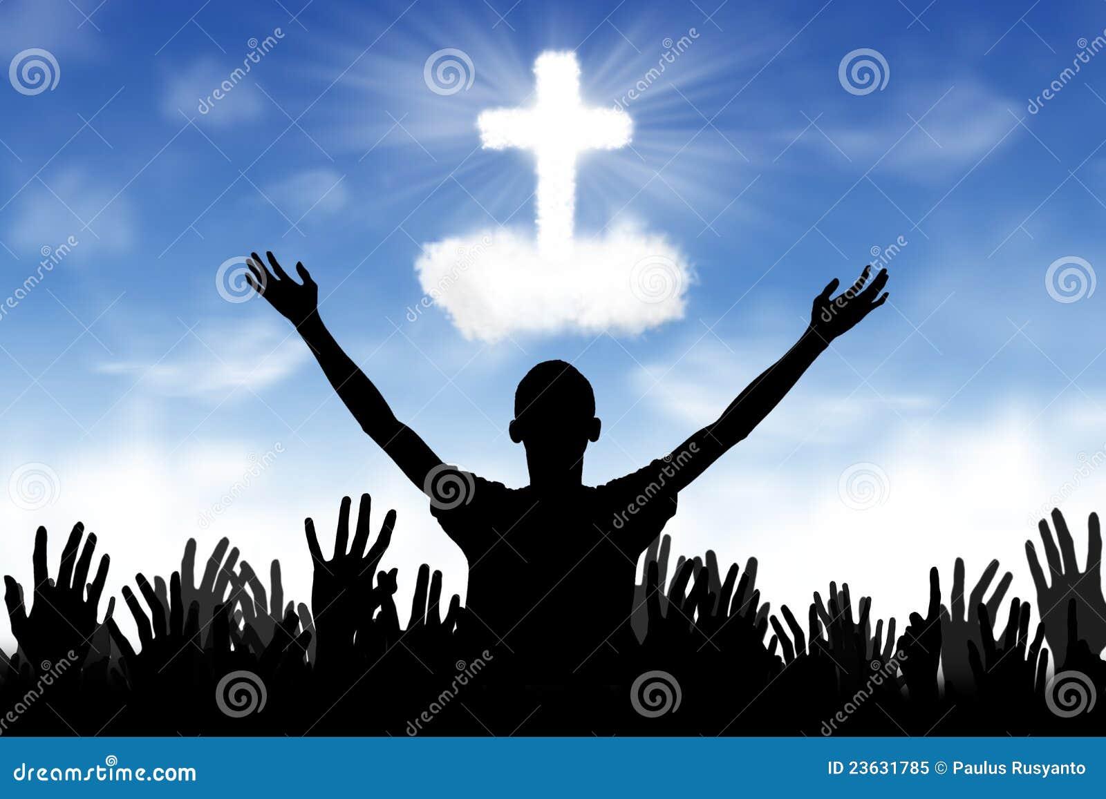 ... Background: Worshipers Royalty Free Stock Photo - Image: 23631785