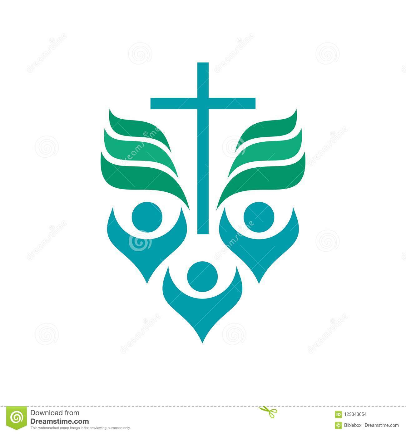 Christian Church Logo Glorification Of God Worshipers Of Jesus