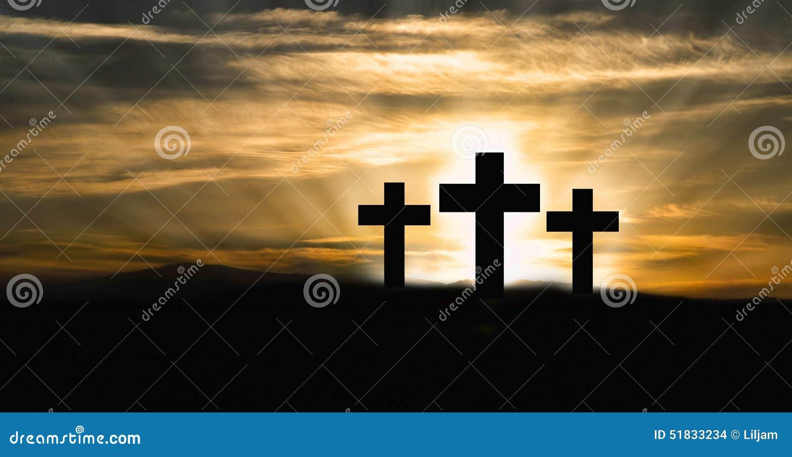 Christian Crosses no monte
