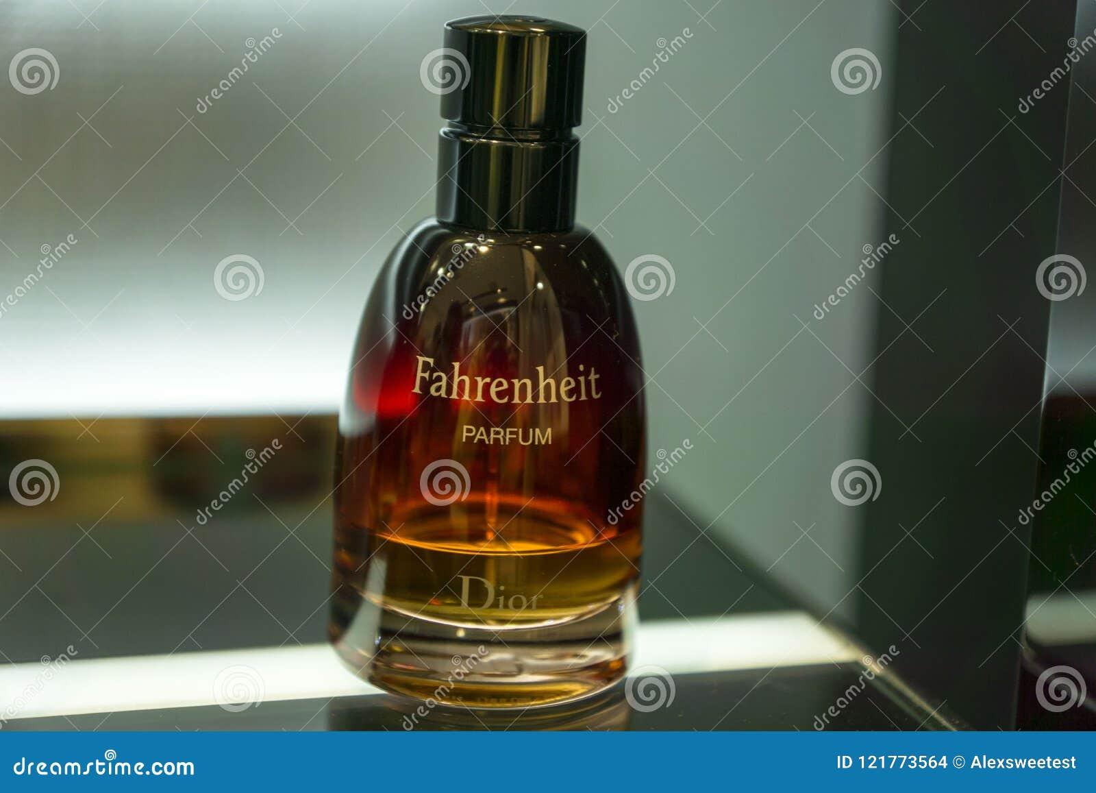 Christian Dior Fahrenheit Perfume Editorial Stock Image