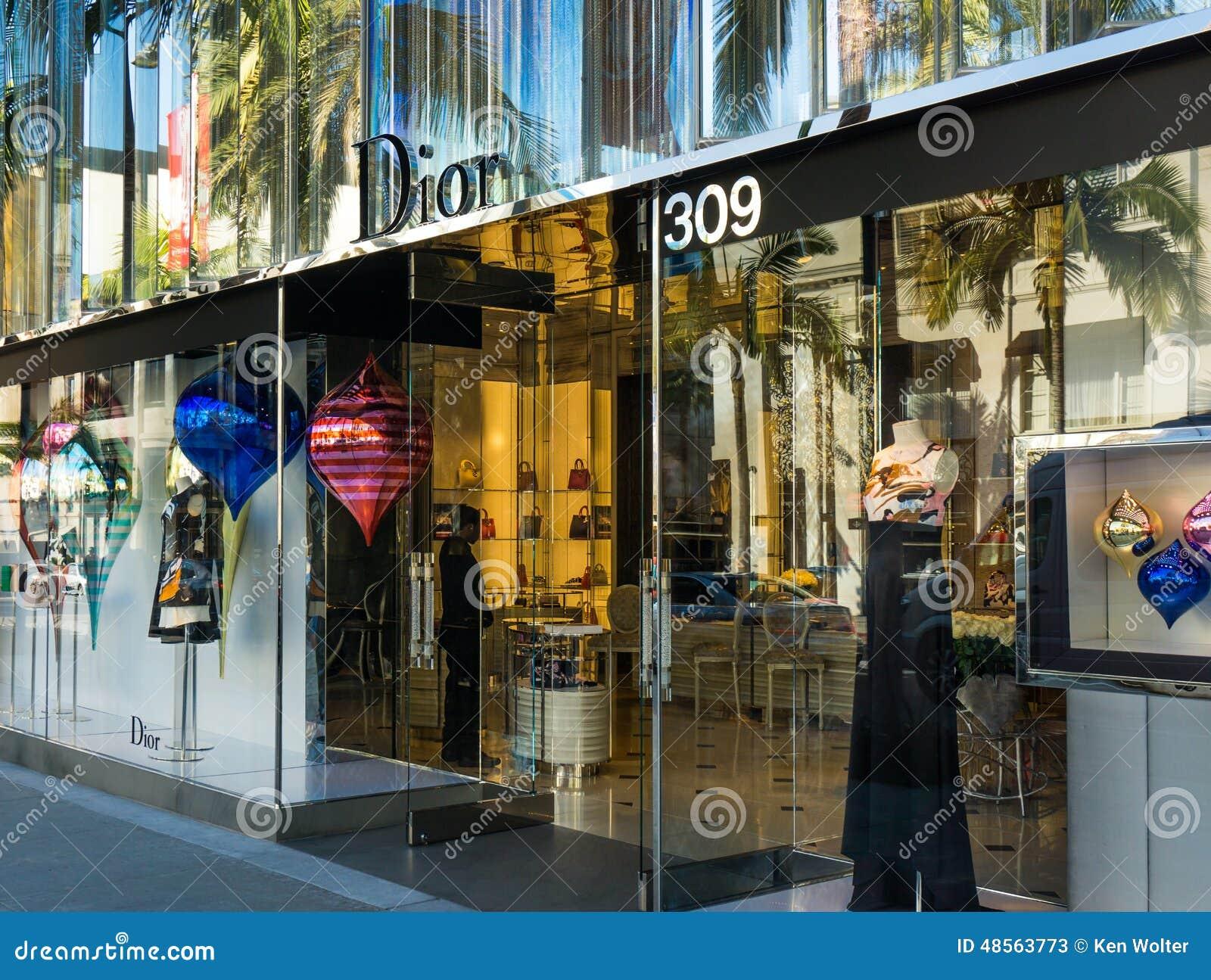 Christian Dior Retail Store Exterior