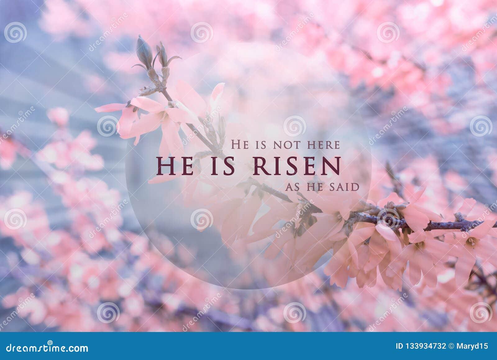Christian Easter bakgrund, religiöst kort Jesus Christ uppståndelsebegrepp