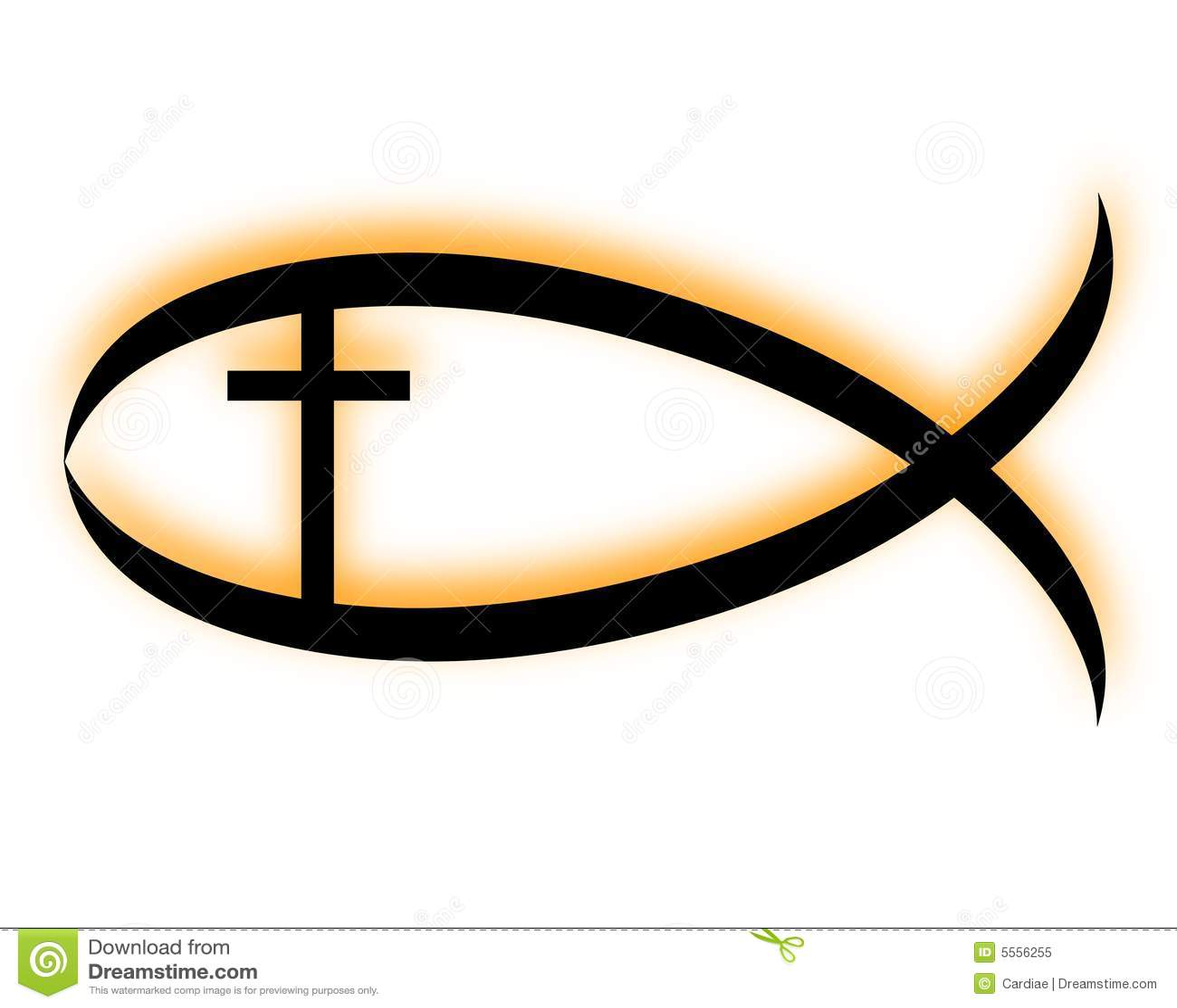 Christian fish Royalty Free  Christian